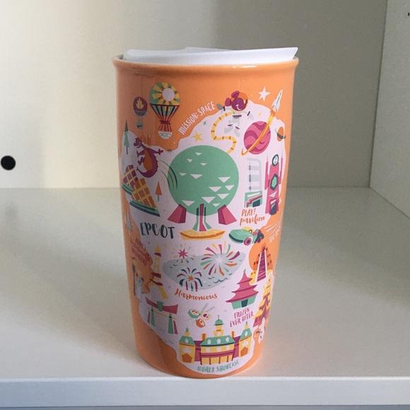 Disney Epcot Starbucks Tumbler